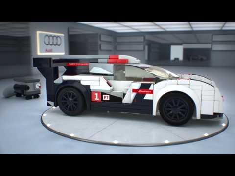 Конструктор Audi R18 e-tron quattro - LEGO SPEED CHAMPIONS - фото № 6