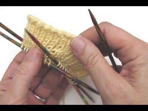 Socken stricken * Sockenkurs #2 * Anschlag mit doppelter Maschenzahl * Glattpatent in Runden