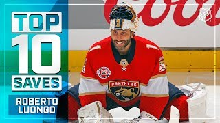 Top 10 Roberto Luongo saves from 2018-19 by NHL