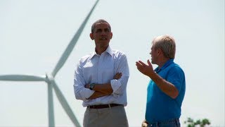 Oskaloosa (IA) United States  city pictures gallery : President Obama in Oskaloosa, Iowa - Wind Energy