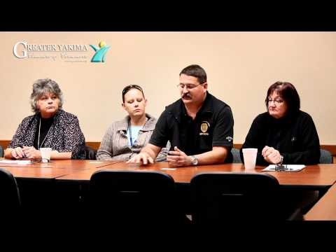 Yakima Chamber - Dept. of Corrections @ Chamber Coffee Club meeting