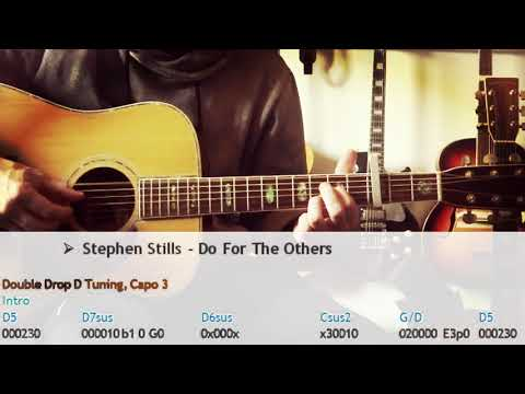 "How To Play ""DO FOR THE OTHERS"" by Stephen Stills 