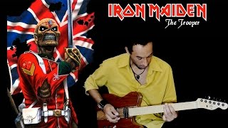 Iron Maiden - Aprenda o solo da música The Trooper