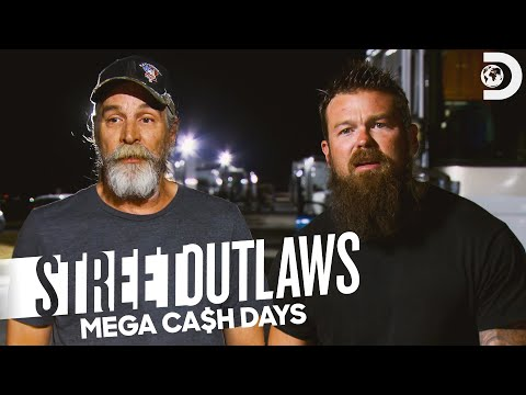 Monza vs. Eric Bain | Street Outlaws: Mega Cash Days