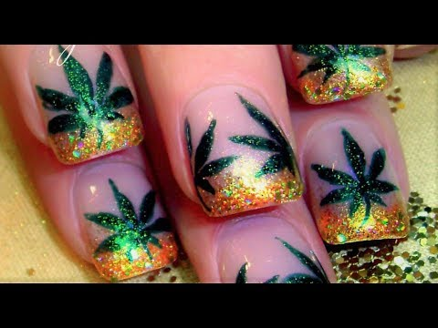 Nail - 420 Nail Art - Cannabis Cup 2014 Denver (in LOGO playlist) SUPPORT ART and SHOUT OUT who inspires you when you copy! This keeps our community STRONG, full of...