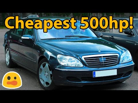 5 Dirt Cheap Cars With 500BHP!!