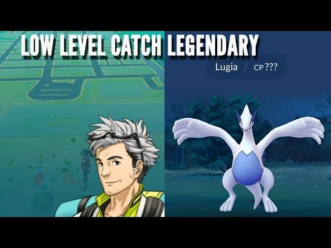 New low level account catch Lugia like a Boss! Pokemon Go Legendary Raid
