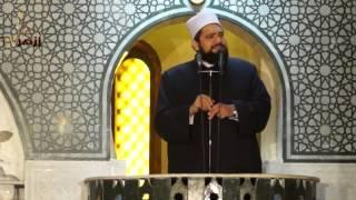 السجود علامة الأمة الإسلامية