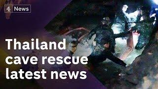 Video Thailand cave rescue latest: Diver dies as rescue efforts intensify MP3, 3GP, MP4, WEBM, AVI, FLV Juli 2018