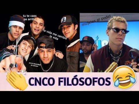 Frases celebres - CNCO FILÓSOFOS/ Frases célebres de CNCO