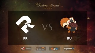 PR vs Burden, game 1