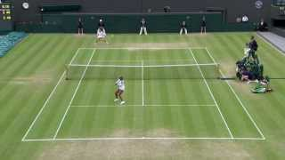 Wimbledon 2013 Day 8 Highlights: Marion Bartoli v Sloane Stephens - YouTube