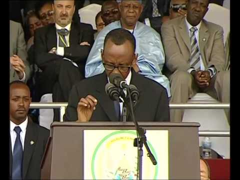 paul kagame - 20th Commemoration of the Genocide Against the Tutsi.