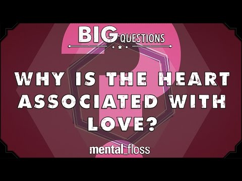 Why is the heart associated with love  Big