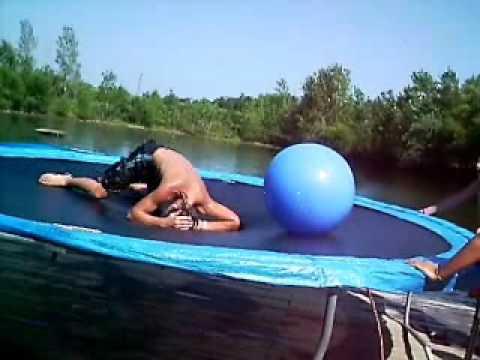 Big (Blue Exercise) Balls