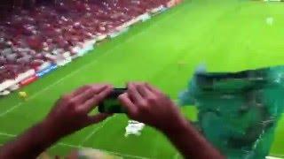 2º Gol do Coritiba marcado por Juan de pênalti no 1º atleTIBA da grama sintética no salão de festas, estádio municipal da prefeitura de Curitiba, Condor do Água Verde, válido pelo Campeonato Paranaense 2016