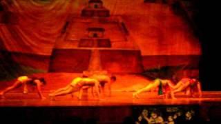 Folklore Salvadoreño Nuestra Historia 2/7 Ballet Folklorico Nac. De El Salvador