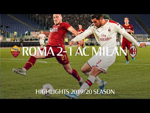 AS Associazione Sportiva Roma 2-1 AC Associazione ...
