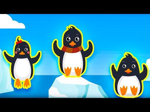 █▬█ █ ▀█▀ Dziecięce Przeboje - Malutkie Pingwinki / Polskie piosenki dla dzieci