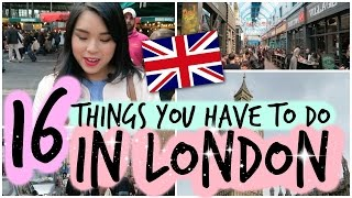Video 16 Things You Have to do in LONDON! MP3, 3GP, MP4, WEBM, AVI, FLV November 2018
