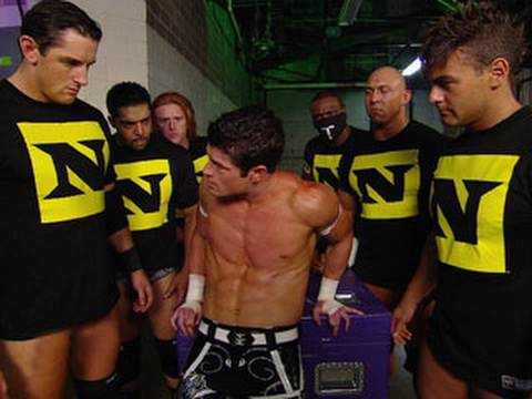 nexus - Raw: The Nexus dismantle several Raw Superstars in the locker room.