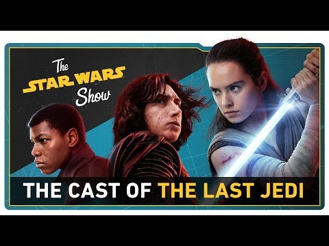 We Talk with the Cast of The Last Jedi, Go to Anthony Daniels' Droid School, and More!