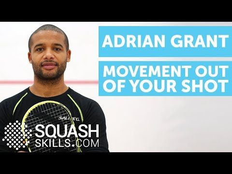 Squash coaching - Adriant Grant - Movement off the ball