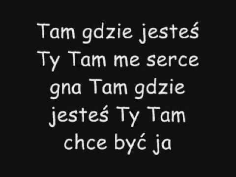 Tekst piosenki Jula & Fabisz - Tam gdzie ty po polsku