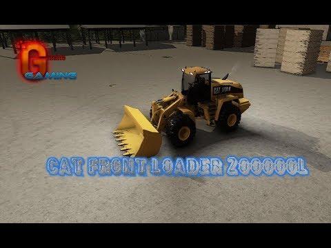 Cat front loader v1.0