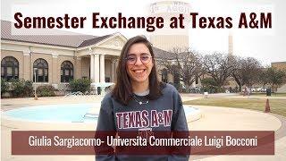 On Exchange at Texas A&M | Giulia Sargiacomo