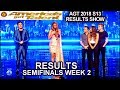 Finals 2 JUDGES SAVE Daniel Emmet We Three America's Got Talent 2018 AGT