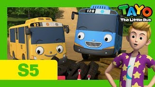 Video Tayo S5 EP9 l The secret playground l Tayo the Little Bus MP3, 3GP, MP4, WEBM, AVI, FLV Desember 2018