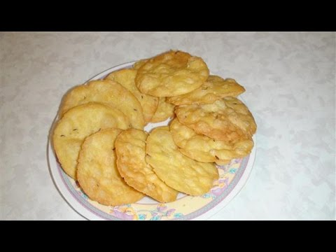 Farsi Puri or poori (crispy puri) Video Recipe by Bhavna