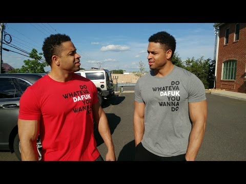 The Hodgetwins Experience Vlog #19 | Back Workout | Office Work| @hodgetwins