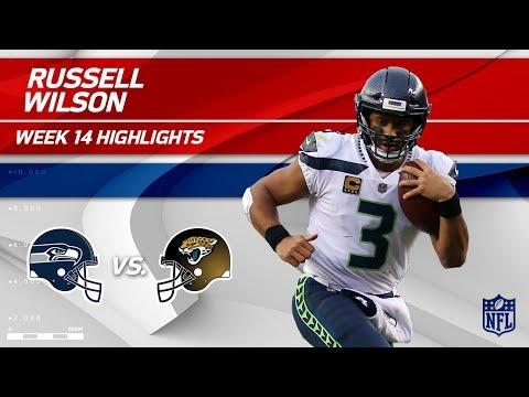 Video: Russell Wilson Highlights | Seahawks vs. Jaguars | Wk 14 Player Highlights