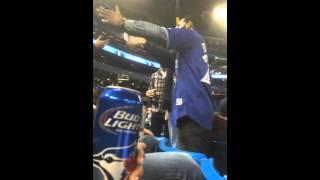 Fan Fight ! Toronto BlueJays vs Newyork Yankees
