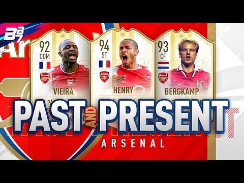PAST AND PRESENT ARSENAL SQUAD BUILDER! | FIFA 19 ULTIMATE TEAM