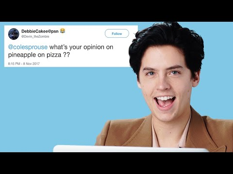 Cole Sprouse Goes Undercover on the Internet