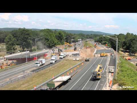 replacement - (SOUTHINGTON, CT) - Governor Dannel P. Malloy today released a time-lapse video of the replacement of two Connecticut highway bridges. The $6 million project to replace the I-84 bridge over...