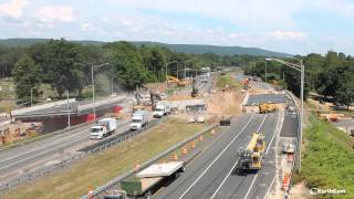 Plantsville (CT) United States  City pictures : Connecticut DOT I-84 Bridge Replacement in Southington