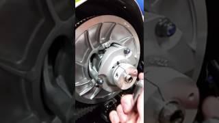 10. Yamaha sidewinder, Thunder Products Belt Adjuster & Belt Removal