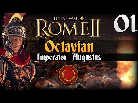 Octavian - Help this reach 1500 likes! Total War: Rome 2 Emperor Edition is now out! Here is the Imperator Augustus campaign. I play as Gaius Julius Octavius on the le...