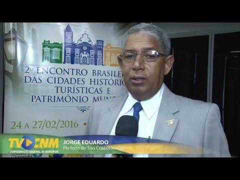 Prefeito de São Cristóvão SE cita obras históricas paradas e convoca gestores para