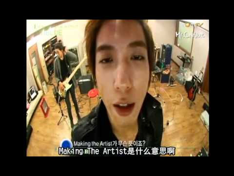 [中字] 100203 GOMTV Making the Artist CNBLUE Ep2