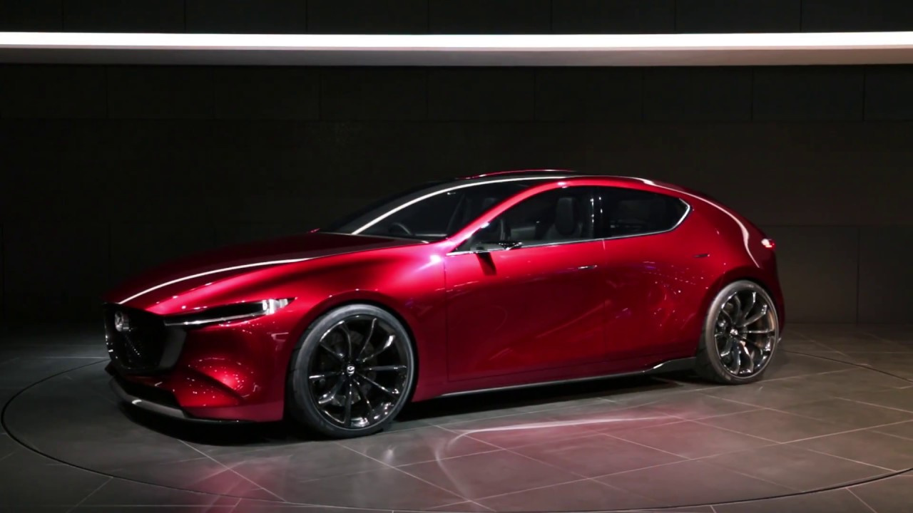 tokyo 2017 mazda kai concept w video. Black Bedroom Furniture Sets. Home Design Ideas