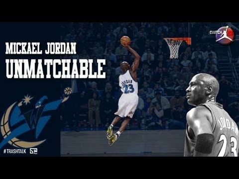 jordan - The highlights of Michael Jordan between 2001 and 2003...the second return of his airness with the jersey of Washington Wizards. At this time Jordan was 38,3...