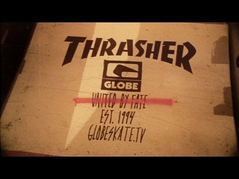 0 Thrasher Magazine x GLOBE   Capsule Collection