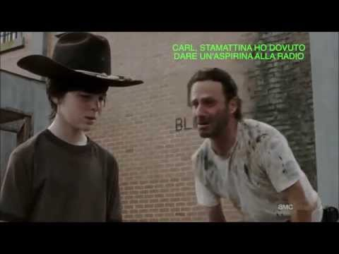 l'aspirina alla radio - the walking dead