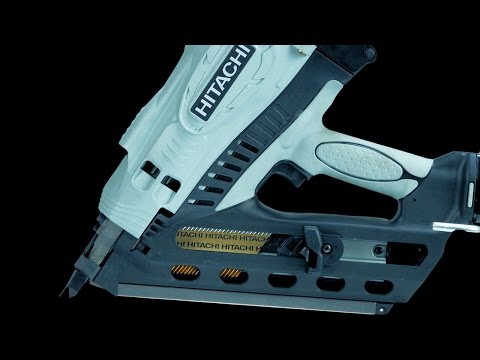 Hitachi 3-1/2-in Cordless Clipped Head Framing Nailer - NR90GC2