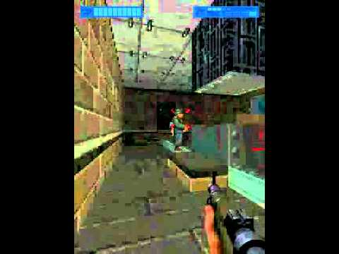 The Overtaker 3D lvl 03 Polish FPP (FPS) mobile phone 2008 gameplay walkthrough
